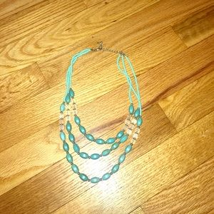 JEM Jewelry - Beautiful Turquoise Beaded Necklace