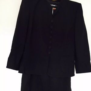 LOUIS FERAUD Skirt Suit Size 12 Made In Germany
