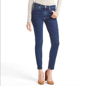 Gap High Waist Skinny Jeans