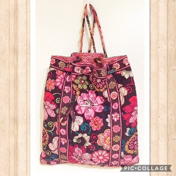 43cc239a3f5b 🌊CLEARANCE🌊Vera Bradley Mod Floral Pink Backpack.  M 58c00875ea3f36a0e902c2a9