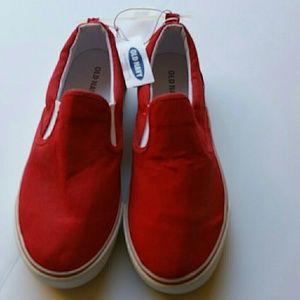 Old Navy Red Kids  Sneakers. Size 4