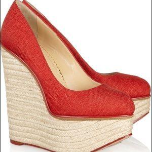 Charlotte Olympia Shoes - FLASH SALE 🎊 NWT Charlotte Olympia Carmen Wedge
