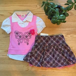 Knitworks Other - NWT KnitWorks Top and Skirt Set