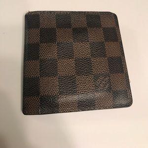 Louis Vuitton Damier Ebene Bifold wallet