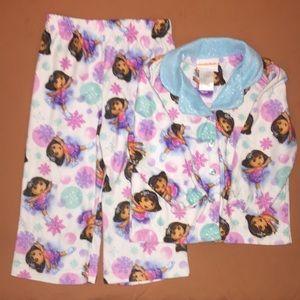 Nickelodeon Other - Girls 2T Dora 2 piece pajama set