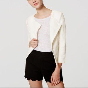 LOFT Jackets & Blazers - LOFT Textured Moto Jacket