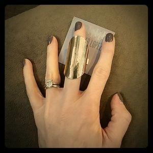 Jennifer Lopez Jewelry - JLO Gold Finger Cast Ring