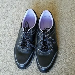 Black Rockport sneakers size 8
