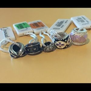 Persona Jewelry - NWT Persona Charm Bead LOT of 5