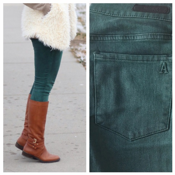 Articles of Society Denim - Articles of Society Emerald Denim Skinny Jean