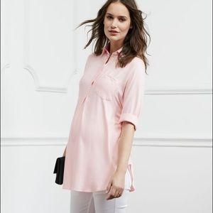 Isabella Oliver Tops - Isabella Oliver Belgrove Tie Maternity shirt