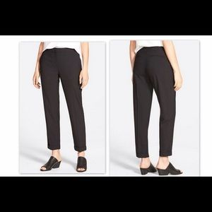 Eileen Fisher Pants - 🆕 Eileen Fisher Wool  Cuffed Slim Ankle Pants-14