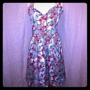 Voodoo Vixen Dresses & Skirts - Voodoo vixen floral multiway swing dress