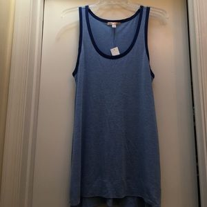 New with Tags GAP Maternity Blue Tank Top