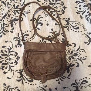Neutral crossbody bag