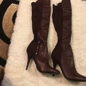 Anne Michelle Shoes - Over the knee boots.
