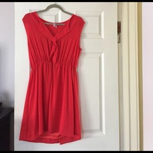 Cute red dress from Francesca's!