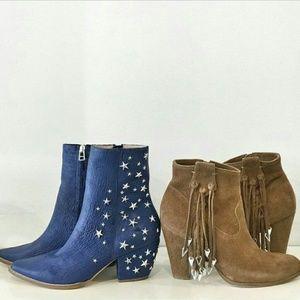 Jeffrey Campbell Shoes - Matisse x Kate Bosworth fringe boots