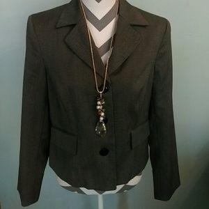 Evan Picone black blazer