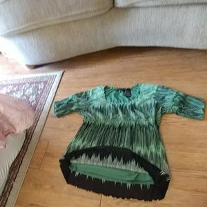 Tops - Beautiful Acess  blouse! EUC! GONE!!