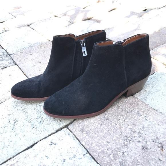 987af22494a178 Sam Edelman Black Petty Ankle Boots Size 5.5. M 58c031827f0a051fca007932