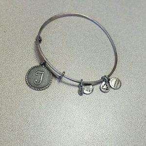 "64% off Alex & Ani Jewelry - ""T"" Alex and Ani Bracelet from Tori"