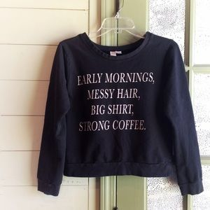 Sassy Quote Pullover