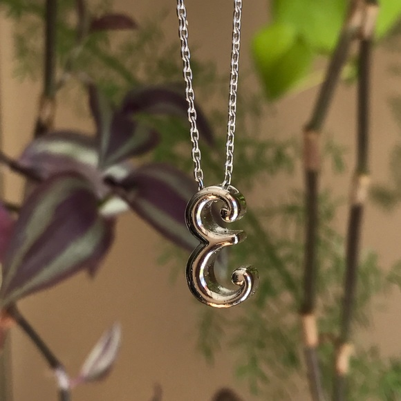 n/a Jewelry - E Silver Necklace