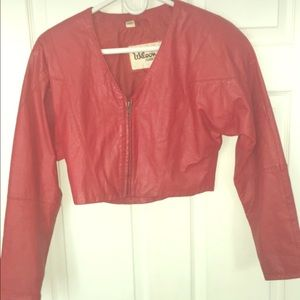Wilson's Leather Cropped Jacket