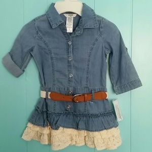 Guess Other - Guess Kids 1Pc Denim Dress with Belt