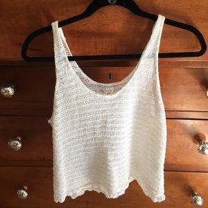 Brandy Melville Tops - Light knit tank top