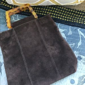 Handbags - Suede bag