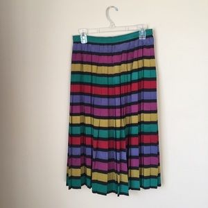Vintage Soo Yung Lee silk skirt