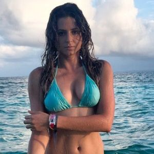 Maya Swim - Maya Aquamarine Ruffle Triangle Top & Thong