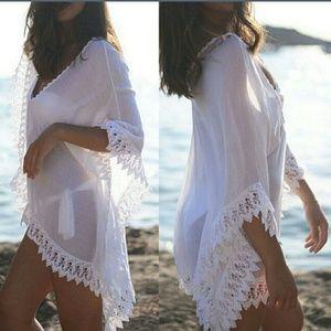 Other - Sexy lace beach bikini coverup
