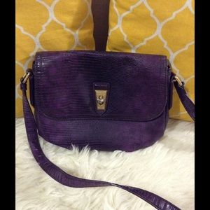 Marc Jacobs Handbags - 🌸OFFERS?🌸Marc Jacobs Embossed Purple Crossbody
