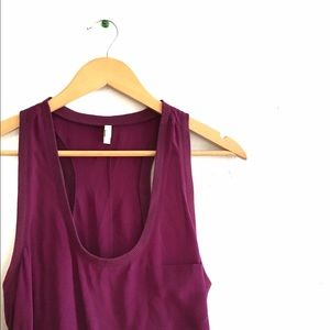 Joie Purple Silk Dress Sz M