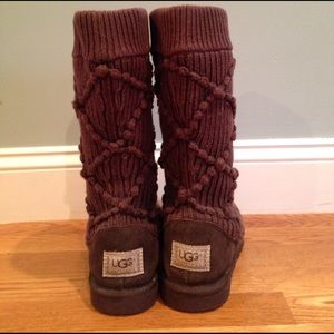 Knit Ugg boots sz. 6
