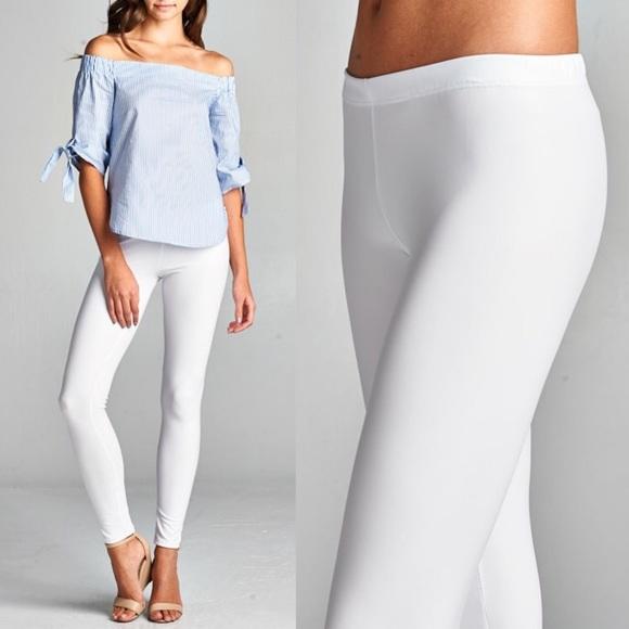 Bellanblue Pants - 🆕DEBORAH slick leggings - BLUSH