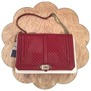 Rebecca Minkoff Handbags - 🌸LOWEST🌸Rebecca Minkoff Jumbo Love Tawny Port