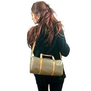 Vintage Gucci Monogram Speedy Crossbody Bag