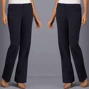 Michael Kors Pants - Michael Kors black pinstripe Gramercy fit trouser