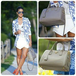 Prada Handbags - Prada Saffiano Shoulder Strap Bag