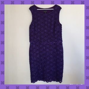 connected apparel Dresses & Skirts - 💜Sleeveless purple dress💜