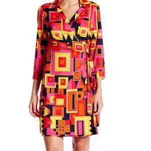 Julie Brown Dresses & Skirts - JULIE BROWN -SHIRT WRAP DRESS