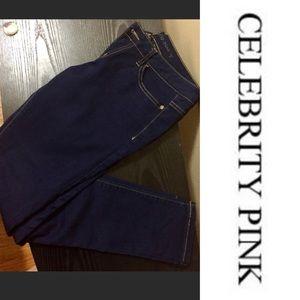 Celebrity Pink Denim - Like New - Dark Blue Jeans