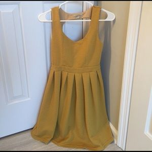 Altar'd State Dresses & Skirts - Yellow Dress, never worn.