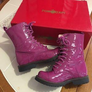 Pom D'Api Other - Pom D'api magenta boots size 8 size 24