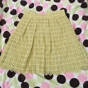 Juicy Couture Lime 🍋 Green/ Yellow ish Skirt Sz 0
