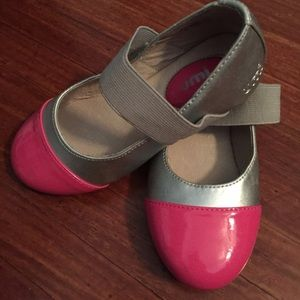 Umi Other - Umi girls size 10.5 pink and silver ballet flats